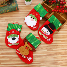 Christmas Stocking Chrismas Decoration Sock for Home Christmas Tree Ornaments Gift Holders Stockings New Year Gift Bags