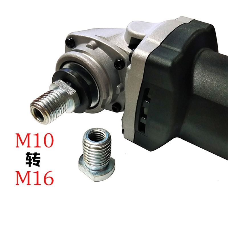 1pcs M10 To M16 Thread Angle Grinder Converter 100 Angle Grinder Adapter New