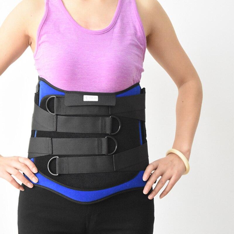 ФОТО Free shipping Lumbosacral orthosis Lumbar Support Lumbar Belt Lumbar Brace HKJD Back Support Waist Belt Waist Brace  HK-B007