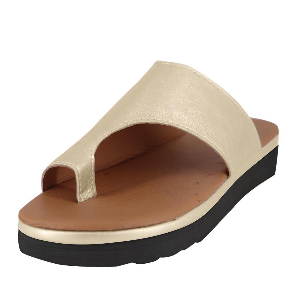 Jaycosin shoes Women Flats slippers Ladys 2019 new Fashion Wedges Open Toe Ankle Beach Shoes Roman Slippers SandalsJaycosin shoes Women Flats slippers Ladys 2019 new Fashion Wedges Open Toe Ankle Beach Shoes Roman Slippers Sandals