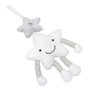Image 5 - New Baby Toys For Stroller Music Star Crib Hanging Newborn Mobile Rattles On The Bed Babies Educational Plush Toys