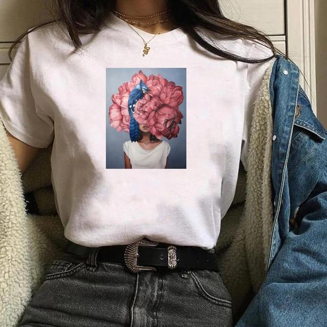 Women Shirt Butterfly...
