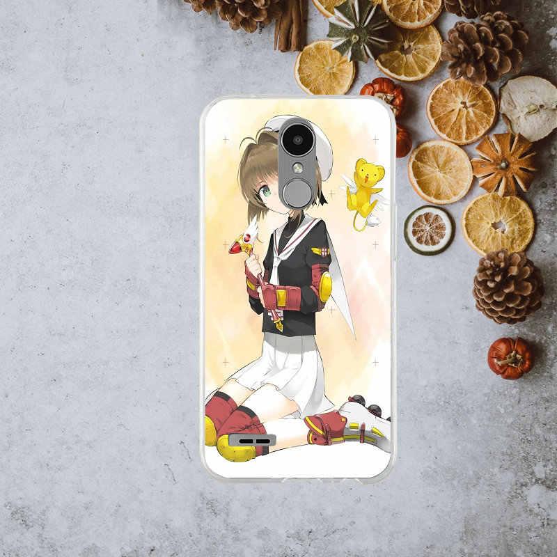 Clow Card Captor Sakura аниме мягкий чехол для LG K4 K7 K8 K10 2017 G2 G3 мини G4 G5 G6 стилусы Nexus 5 5X V10 V20 V30