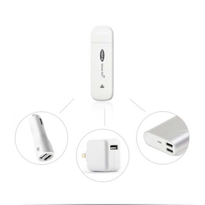 TIANJIE UF230 3G módem Wifi Mini coche inalámbrico Router 7.2Mbs Router inalámbrico Wifi Mobile Hotspot Global desbloquear con ranura para tarjeta SIM