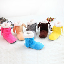 2015 New Winter Warm Indoor slipper for Women's At Fashion Home Slippers Warm Plush Household shoes chinelos femininos Botas