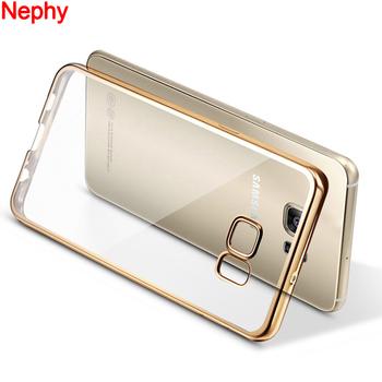 Nephy miękkiego silikonu TPU etui do Samsung Galaxy S3 S5 Neo S6 S7 krawędzi S8 S9 Plus uwaga 3 4 5 8 Duos telefon komórkowy tylna okładka obudowy tanie i dobre opinie CN (pochodzenie) Częściowo przysłonięte etui Ultrathin Ultra Thin Shockproof Housing Capinha Women Man Child Gift Zwykły