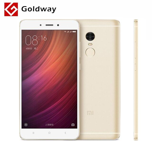 """Оригинал Xiaomi Redmi Note 4 Премьер Мобильного Телефона 3 ГБ RAM 64 ГБ ROM MTK Helio X20 Дека Core 5.5 """"FHD 4100 мАч [официальной Глобальной ROM]"""