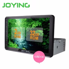 Joying 8 inch Android 5.1 AutoRadio Stereo Single 1 din Quad Core Universal Car Media Player HD Capacitive 2GB+32GB Head Unit