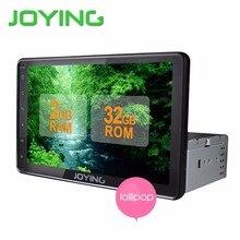 Joying 8 дюймов Android 5.1 Авторадио Стерео Одноместный 1 дин Quad Core Универсальный Автомобиль Media Player HD Емкостный 2 ГБ + 32 ГБ Голову блок
