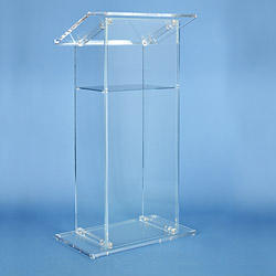 Free Shipping Acrylic Church Pulpit /innovative Lectern /Shatterproof Podium For Church Platform