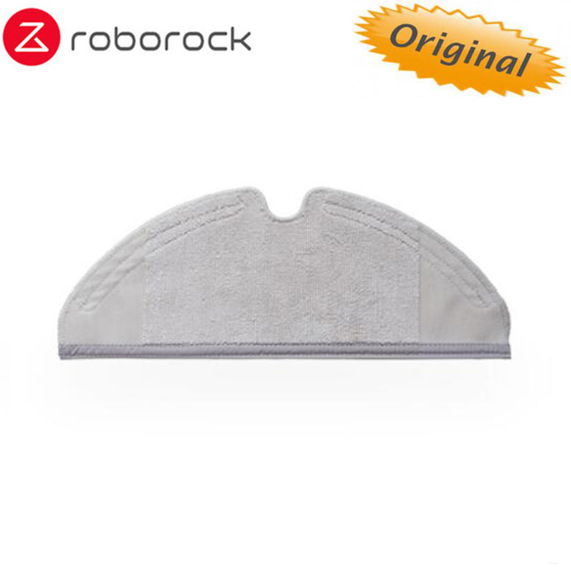Original Roborock Robot Vacuum Part Of Mopping Cloth Of Robotic Vacuum Cleaner Mop For Roborock Vacuum Cleaner 4 Pcs(2 Box)/lot