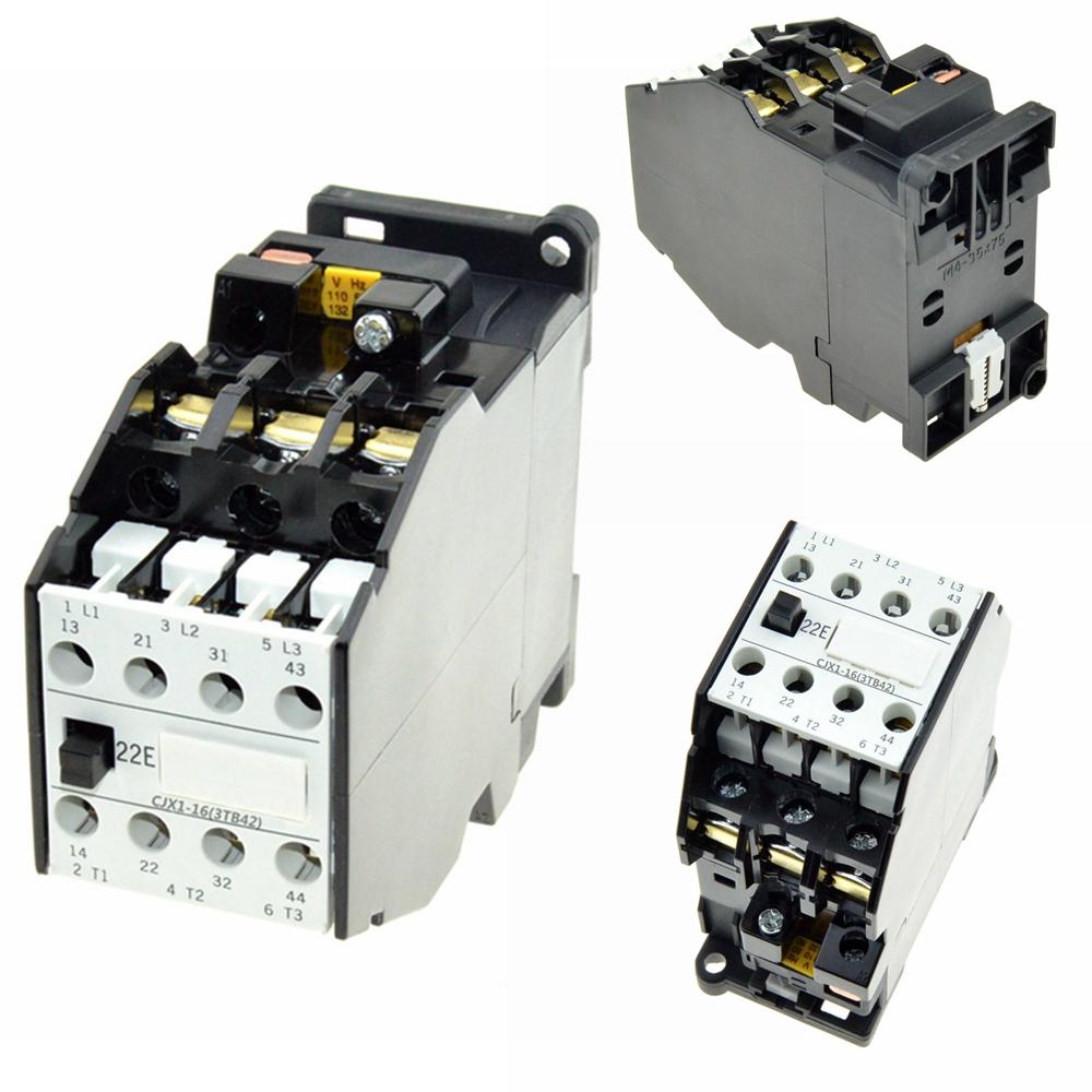 3 Pole 2no 2nc Ac Contactor 16a Coil Volt 48v 110v 220v 380v 50hz Wiring 16