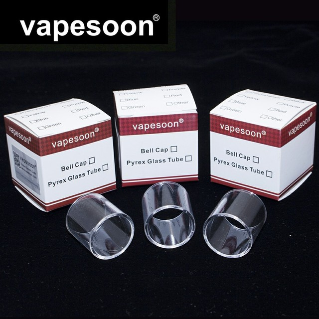 Original Vapesoon Pcs Lot Replacement Glass Tube For Desire Mad Dog Gta Mm