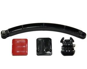 Image 2 - SnowHuหมวกกันน็อกแขนSelf Photo + กาวยึดโค้งคุณภาพสูงสำหรับGopro Hero 9 8 7 6สำหรับYi 4KสำหรับEKEN GP78