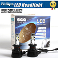 NEW Car-Styling Super Bright 90W 10800lm H7 White 6000K Car P hilips LED Headlight Conversion Lamp Kit Bulb Car Light Sourcing