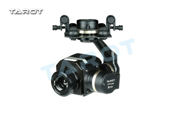 Tarot métal efficace FLIR caméra de cardan d'imagerie thermique 3 axes CNC cardan pour Flir VUE PRO 320 640PRO TL03FLIR - 2