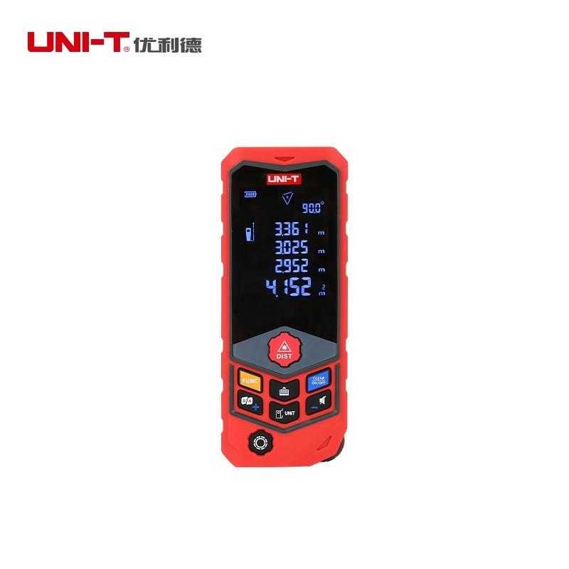 UNI T laser distance meter 50M 100M rangefinder trena laser tape range finder build measure device