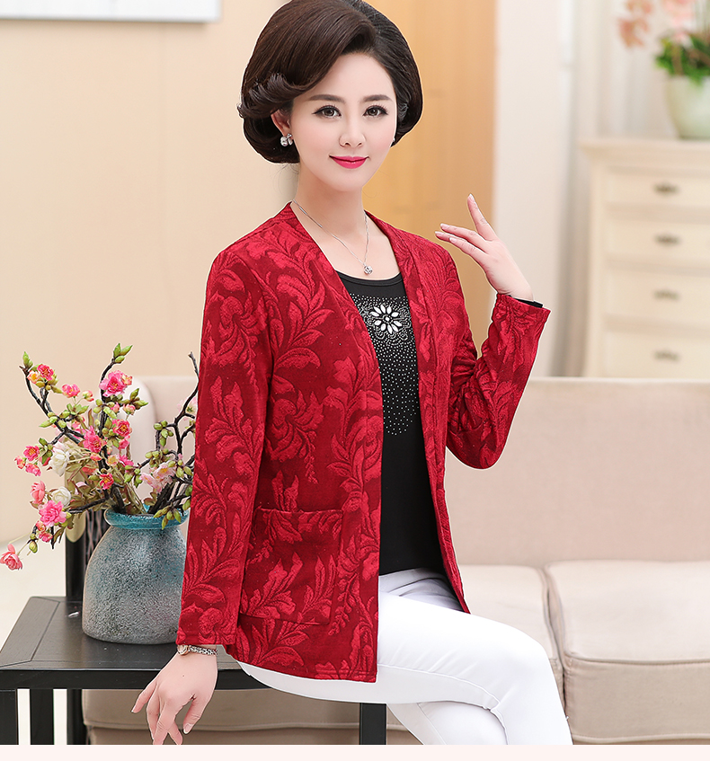 2019 Women Sequined Blouses Fake 2 Piece Top Rose Red Green Layered Shirt Faux Twinset Blouse Woman Casual Flower Shirt Top Female (6)