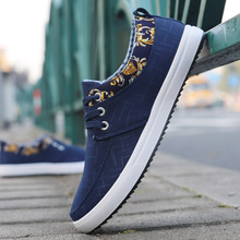Купить с кэшбэком Canvas Shoes Men Breathable Casual Shoes Men Shoes Loafers Soft Comfortable Outdoor Flat Lazy Shoes for Male Chaussure Homme