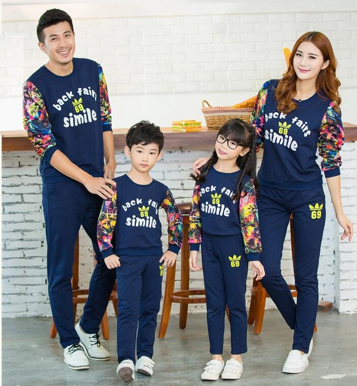 Korean Family Matching Outfits Family set style Parents