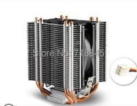 9cm Fan 4 Heatpipes Tower Side Blown Intel LGA775 1150 1155 1156 AMD 754 939 940