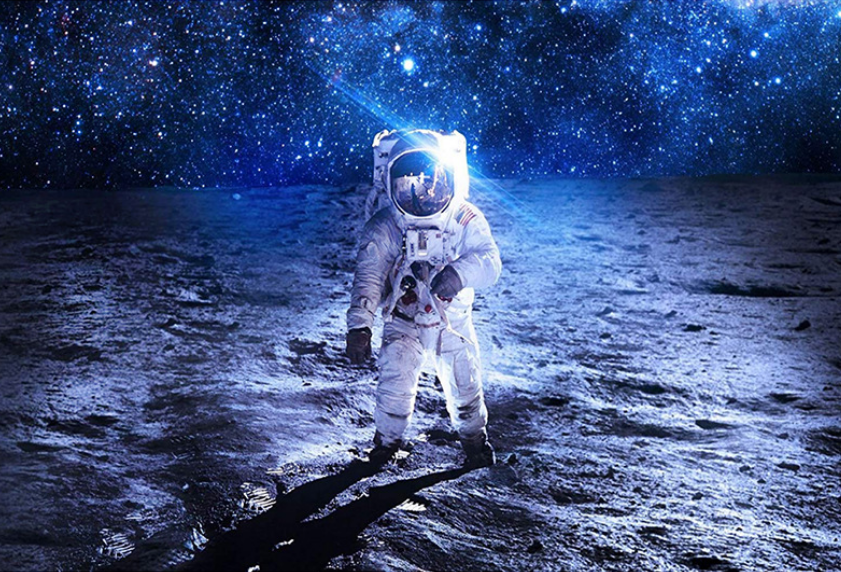 astronaut chilling in space - HD 6994×4337