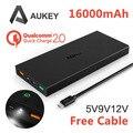 Aukey Быстрая Зарядка 2.0 16000 мАч Портативный Внешний Аккумулятор Быстро Быстрое Зарядное Устройство банк силы для Galaxy S6 S6 Edge Note 4/Edge