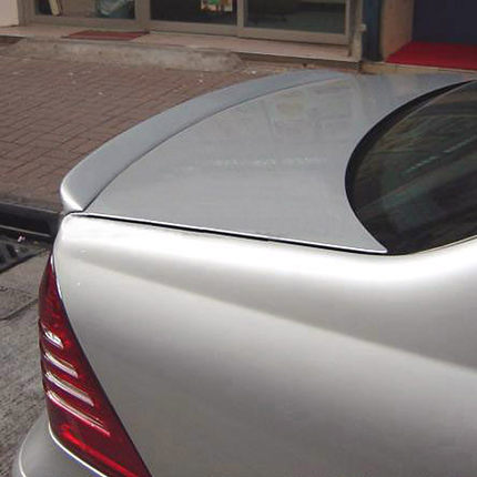 <font><b>W203</b></font> FRP Primer Car styling Rear Trunk lip <font><b>spoiler</b></font> wing for Mercedes Benz 2000-2007 image