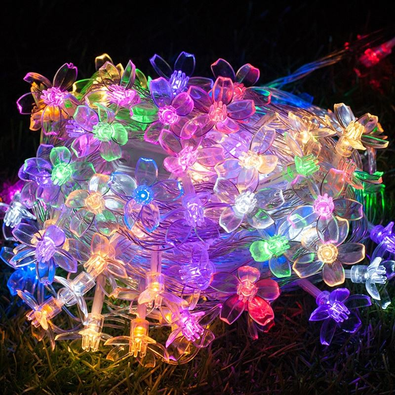 30m 300 Cherry LED Garland string lights fairy christmas lights luces decorativas guirla ...