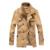 2017 homens Da Moda casaco de lã de inverno gola único breasted slim fit casaco de ervilha dos homens 4XL 5XL ACL30