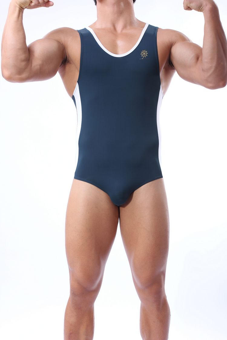 reliable quality hot-selling best choice US $15.09 46% OFF|Men's One Piece Swimming Suit Silky Soft Nylon Spandex  Swimwear Bathing Suit Fitness Gym Body Sport Wetsuit Jumpsuit Bodysuit-in  ...