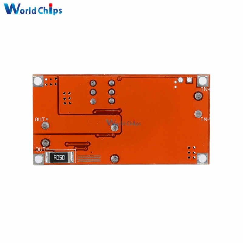 CC/CV ajustable Max 5A paso Buck tablero de carga XL4015 cargador de batería de litio módulo convertidor de DC-DC 0,8- 30 V a 5-32 V