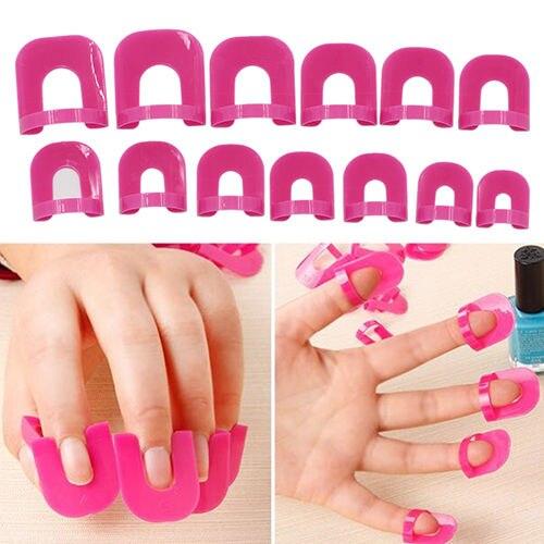 aliexpress com buy 26 pcs nail polish edge anti flooding plastic