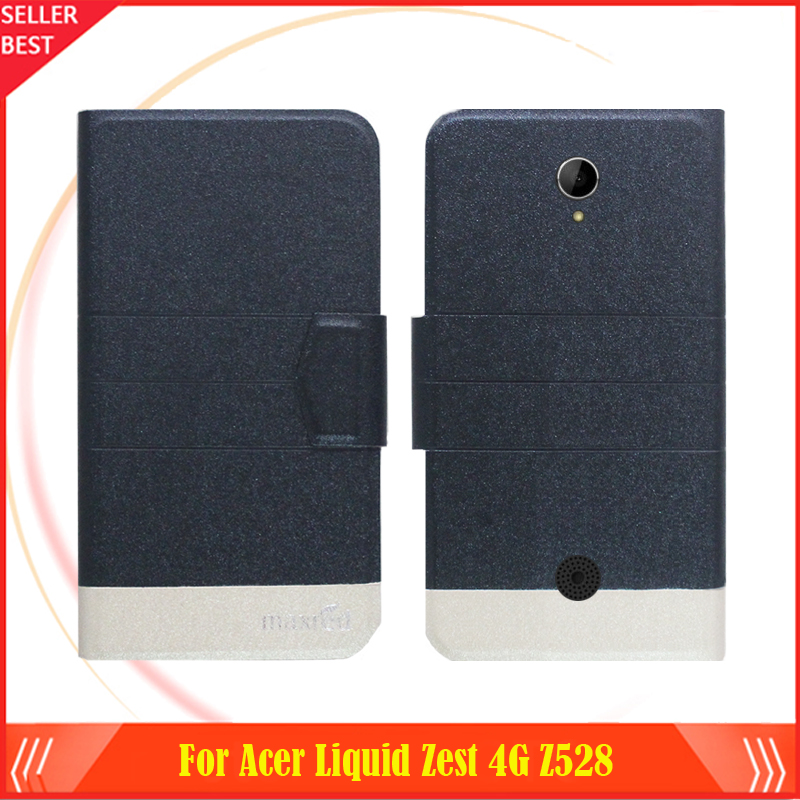 5 Colors Factory Direct!! For <font><b>Acer</b></font> <font><b>Liquid</b></font> <font><b>Zest</b></font> 4G Z528 <font><b>Case</b></font> ultra-thin Flip Fashion Leather 100% Special Protective <font><b>Phone</b></font> Cover