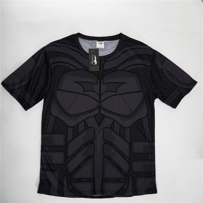Batman Spiderman Ironman Superman Captain America Winter soldier T shirt Avengers Costume Comics Superhero mens 114