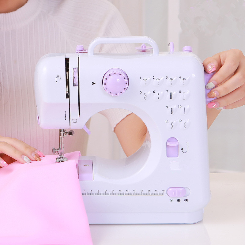 Image 2 - Fanghua sewing machine 505a home multi function electric eating  thick sewing machine US European standardSewing Machines   -