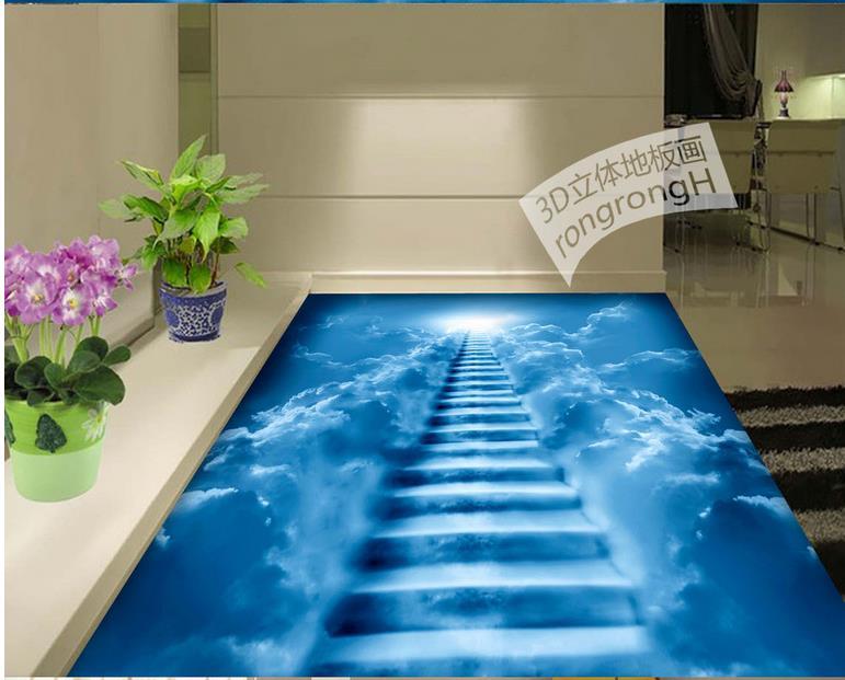 3d Fußboden Wolken ~ Vinyl böden wasserdicht benutzerdefinierte d tapete stock wolken