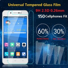 Universal 9H Premium Real Tempered Glass Screen Protector Shatter Proof Protective Film For LG UMI Philips
