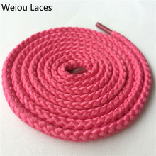 Weiou Ronde stropdas veters string cool stretchy veters Gevlochten sportschoen veters alternatieve sneaker 125cm / 49 ''