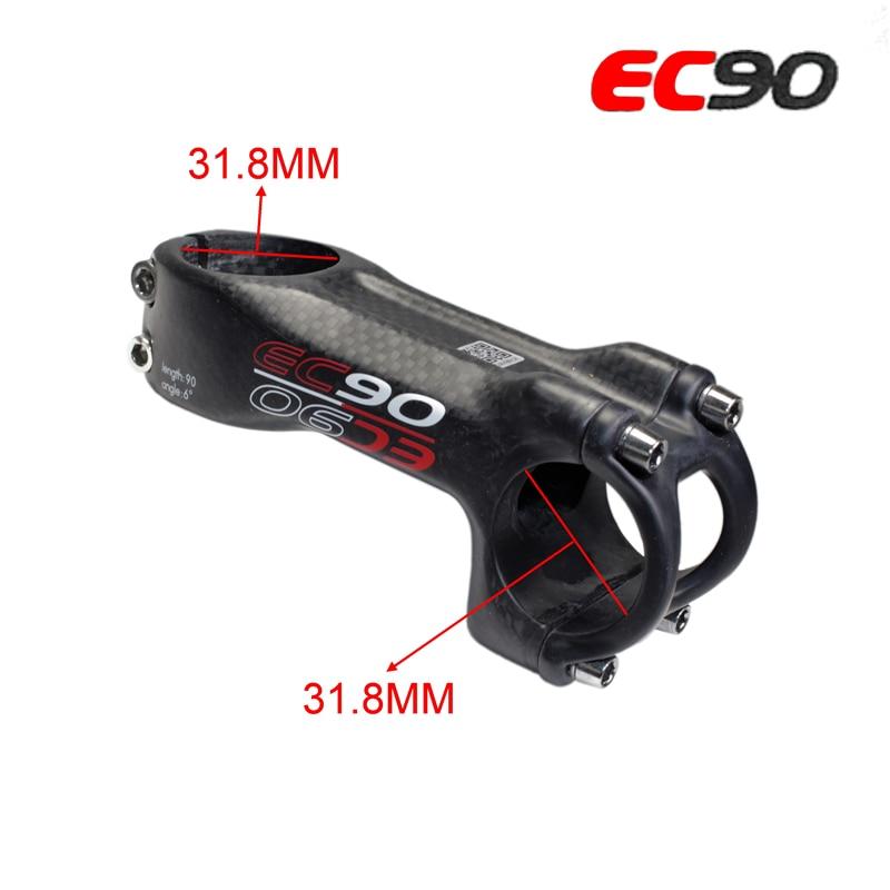 2017 new EC90 full carbon fiber Mountain Bike diameter / road bike stem / riser / MTB bicycle stem 31.8  31.8mm-in Bicycle Stem from Sports & Entertainment    1