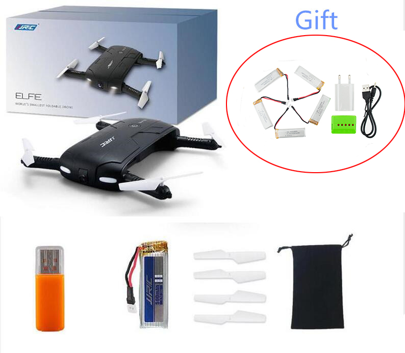 ФОТО Quadcopter  JJRC H37 with 5pcs 550mah battery X5 charger EU Drone WIFI FPV HD Camera RC  Helicopter