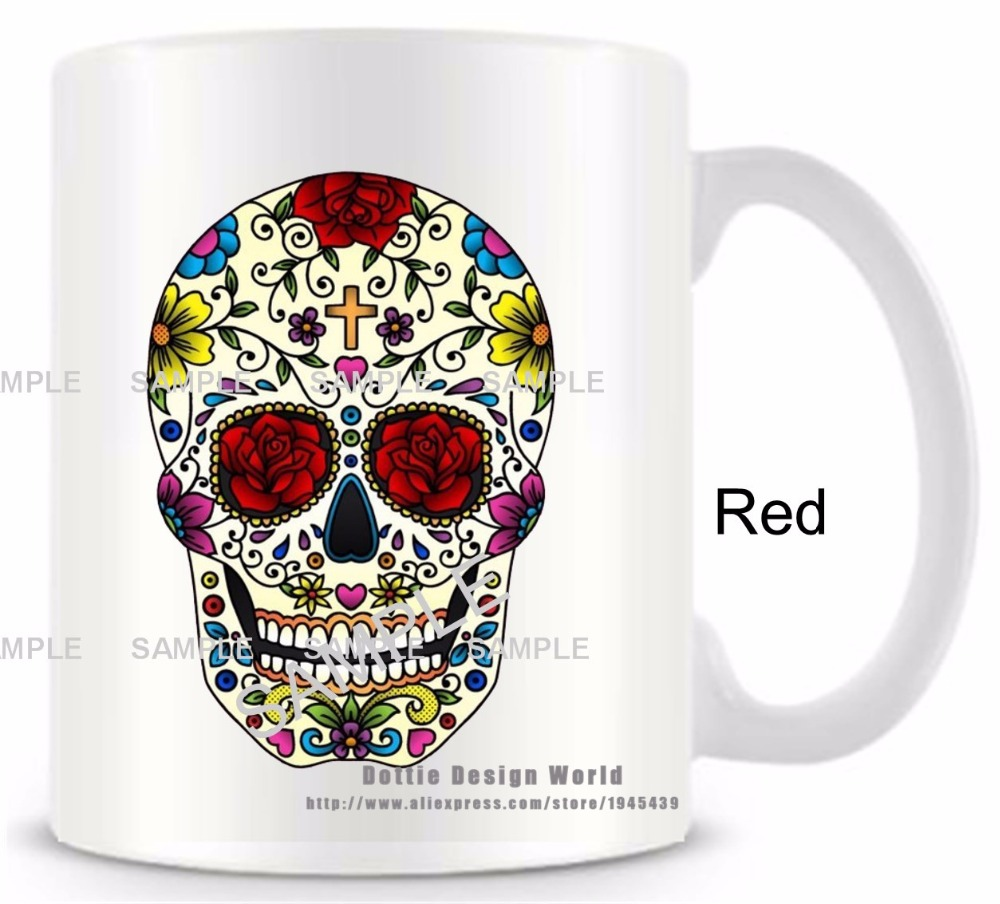 Personalized Mexican Sugar skull Day Of The Dead funny
