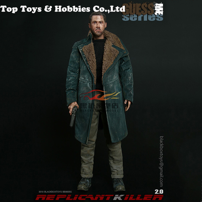 Full set 1/6 action figure BBT9005S Guess Me Series The Male Killer Figure Old Version Model Toy Collectible Figure Doll Gift