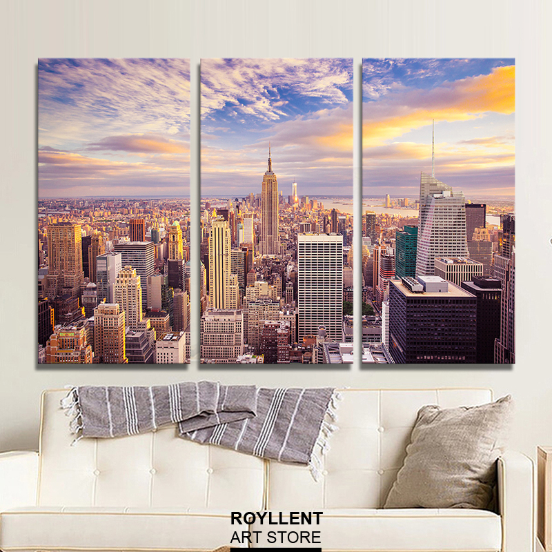 New York City Picture Canvas Painting Modern Wall Art