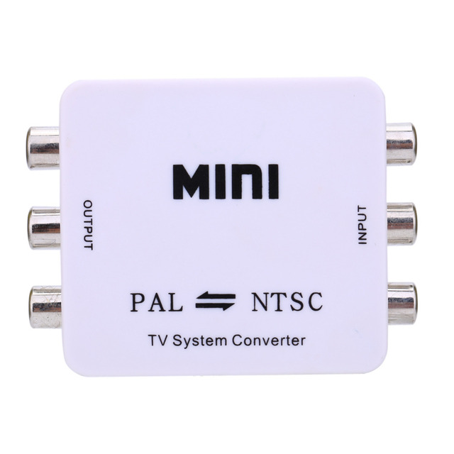 Dual Way TV Format Video System Converter Composite Connection Mini ...