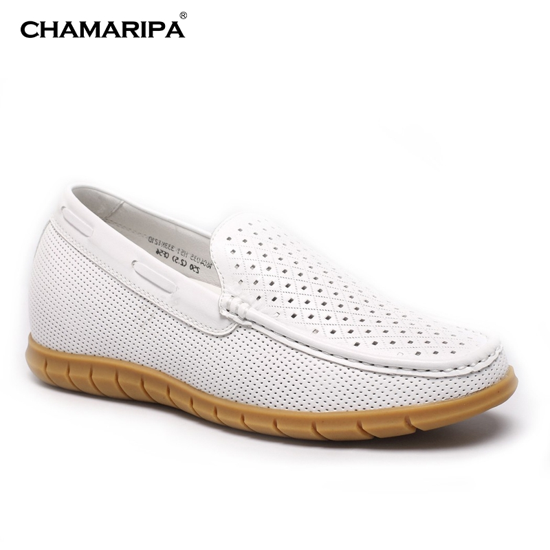CHAMARIPA Increase Height 6cm/2.56 inch  Elevator Shoe Men Shoes Casual Sandals That Make You Taller Height Increasing  chamaripa increase height 7cm 2 76 inch taller elevator shoes black mens leather summer sandals height increasing shoes