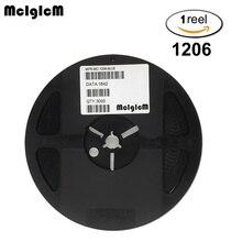 MCIGICM 3000 stücke 1206 SMD LED dioden licht Grün gelb rot weiß blau