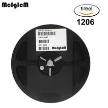 MCIGICM 3000pcs 1206 SMD LED 다이오드 라이트 그린 옐로우 레드 화이트 블루