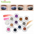 Hot sale single color eyeshadow primer Eye shadow Palette Metallic 12 Colors Baked Eyeshadow cosmetic glitter for woman makeup