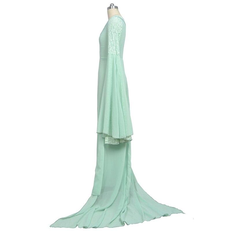 Властелин колец Arwen зеленое платье костюм платье ручной работы на заказ для женщин - 2